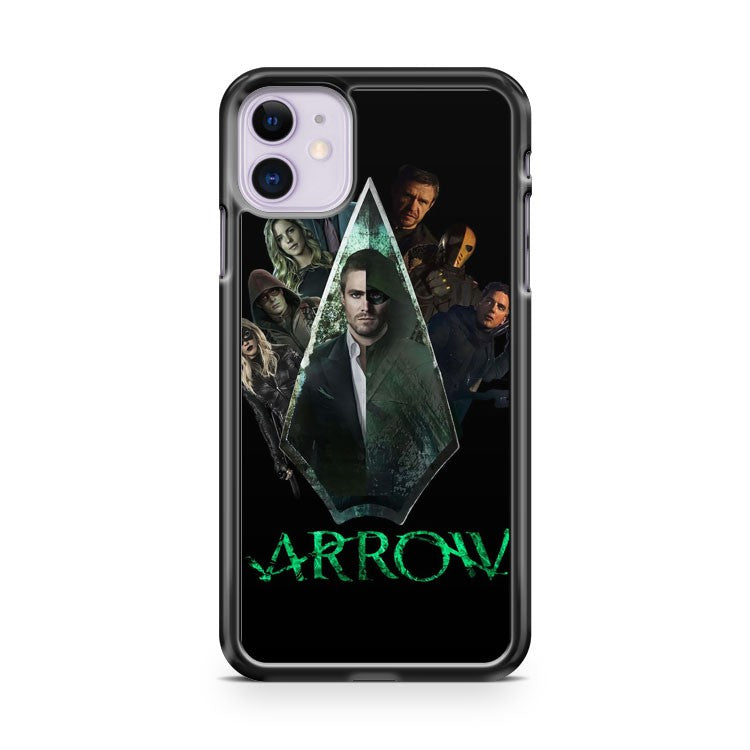 Arrow Tv Series Characters iPhone 11 Case Cover | Overkill Inc.