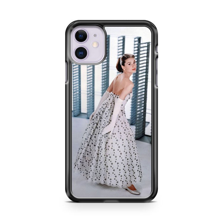 Audrey Hepburn Movie Dresses iPhone 11 Case Cover | Overkill Inc.