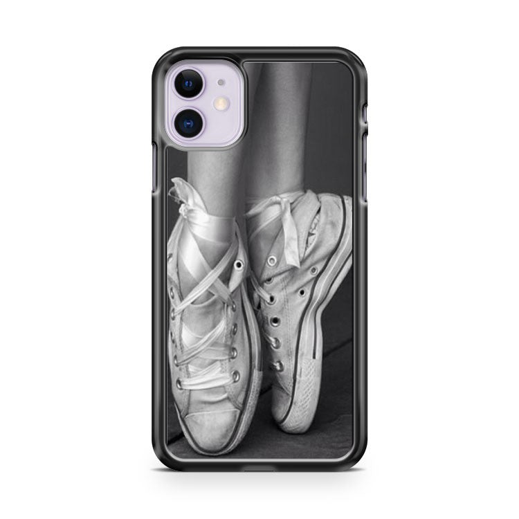 Ballet Dancer Shoes Converse Chuck Taylor iPhone 11 Case Cover | Overkill Inc.