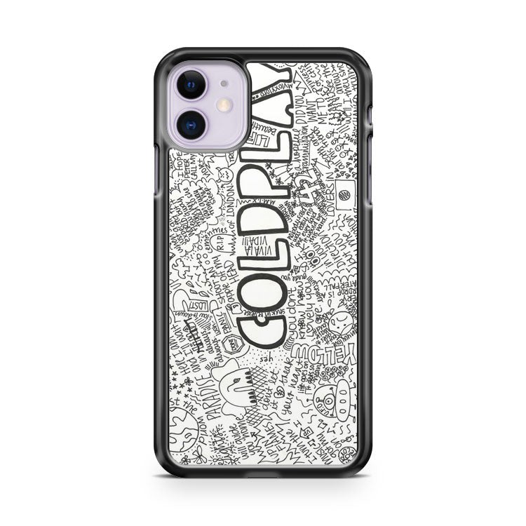Coldplay The Scientist Quotes iPhone 11 Case Cover | Overkill Inc.