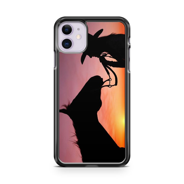 Cowgirl Horse Sunset iPhone 11 Case Cover | Overkill Inc.