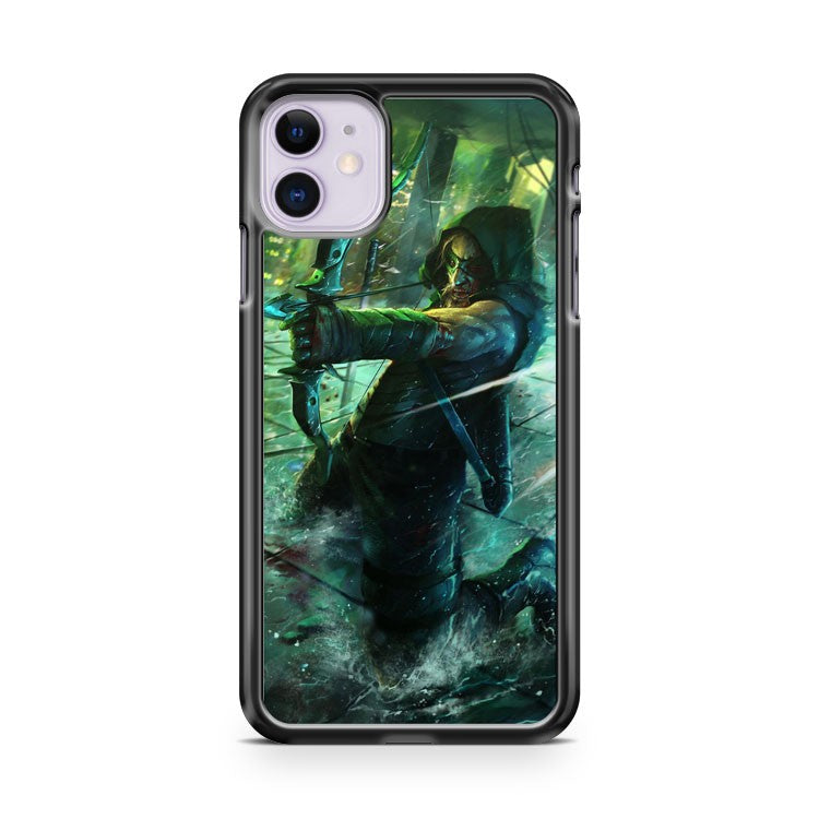Dc Green Arrow Oliver Queen Action iPhone 11 Case Cover | Overkill Inc.