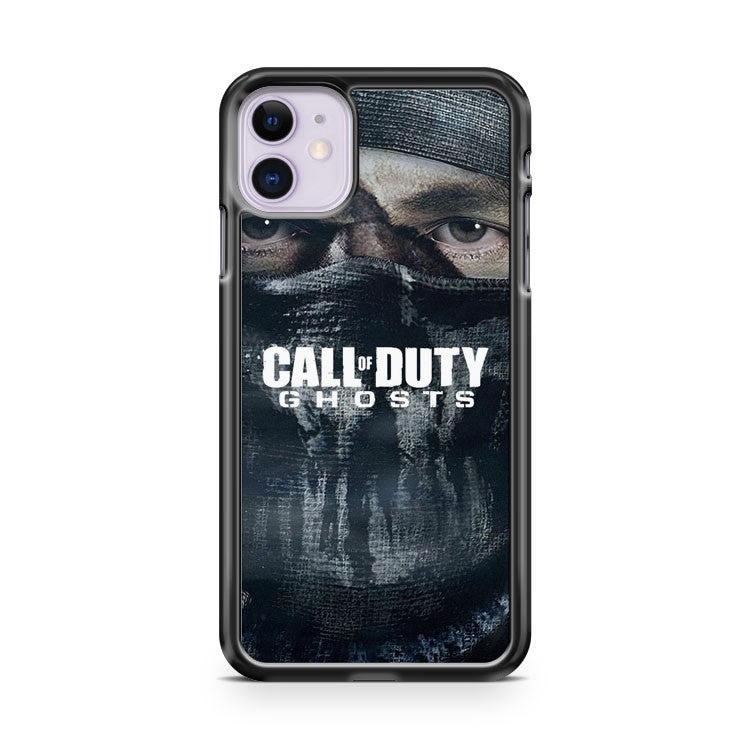 Game Ghost Mask Call Of Duty Black Ops iPhone 11 Case Cover