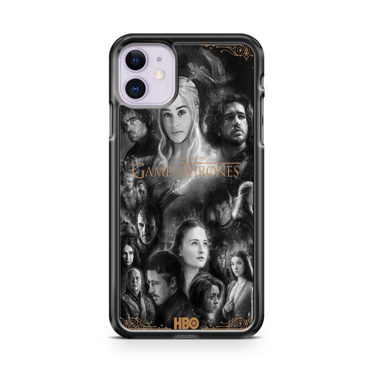 Game Of Thrones 2 iPhone 11 Case Cover