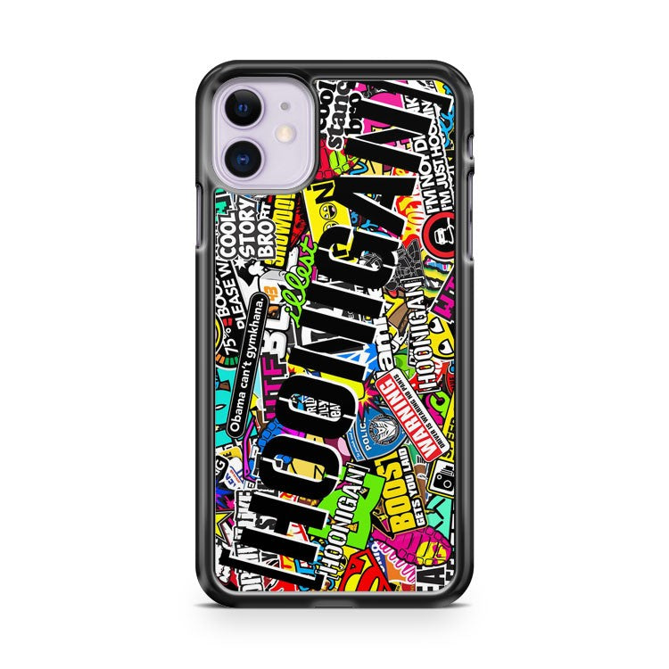Hoonigan Stickerbomb iPhone 11 Case Cover
