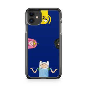 Adventure Time Characters Clock iPhone 11 Case Cover | Overkill Inc.