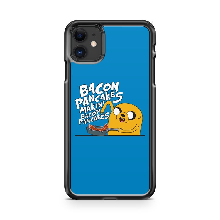 Adventure Time Jake Bacon Pancakes 2 iPhone 11 Case Cover | Overkill Inc.
