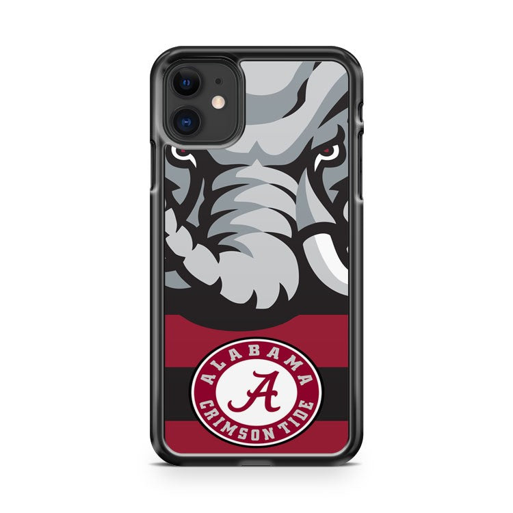 Alabama Crimson Tide 2 iPhone 11 Case Cover | Overkill Inc.