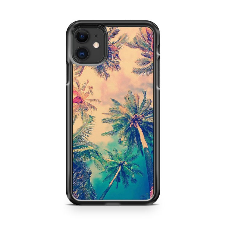 Aloha Palm Trees iPhone 11 Case Cover | Overkill Inc.