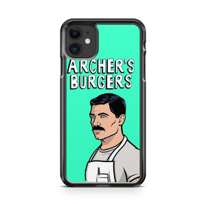 Archer s Burgers 2 iPhone 11 Case Cover | Overkill Inc.