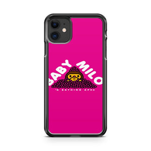 Baby Milo Pink iPhone 11 Case Cover | Overkill Inc.