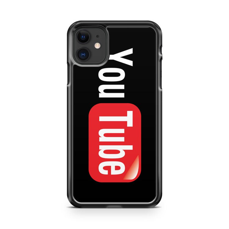 Cool Youtube Broadcast Yourself Video Sharing iPhone 11 Case Cover | Overkill Inc.