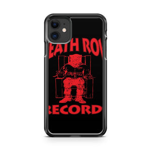 Death Row Records West Coast Hip Hop iPhone 11 Case Cover | Overkill Inc.