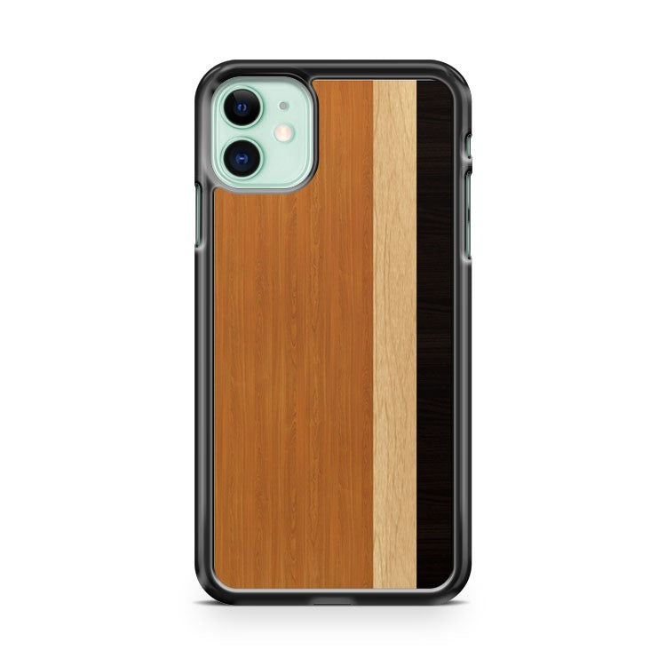3In1 Wood Texture iPhone 11 Case Cover | Overkill Inc.