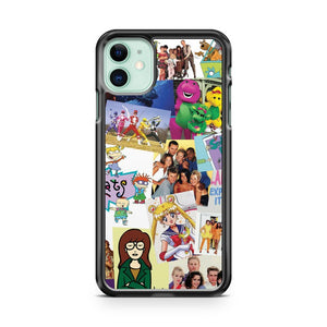 90 s Childhood iPhone 11 Case Cover | Overkill Inc.