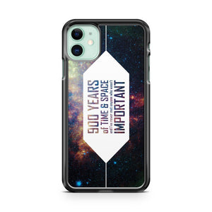 900 Years Of Time And Space iPhone 11 Case Cover | Overkill Inc.
