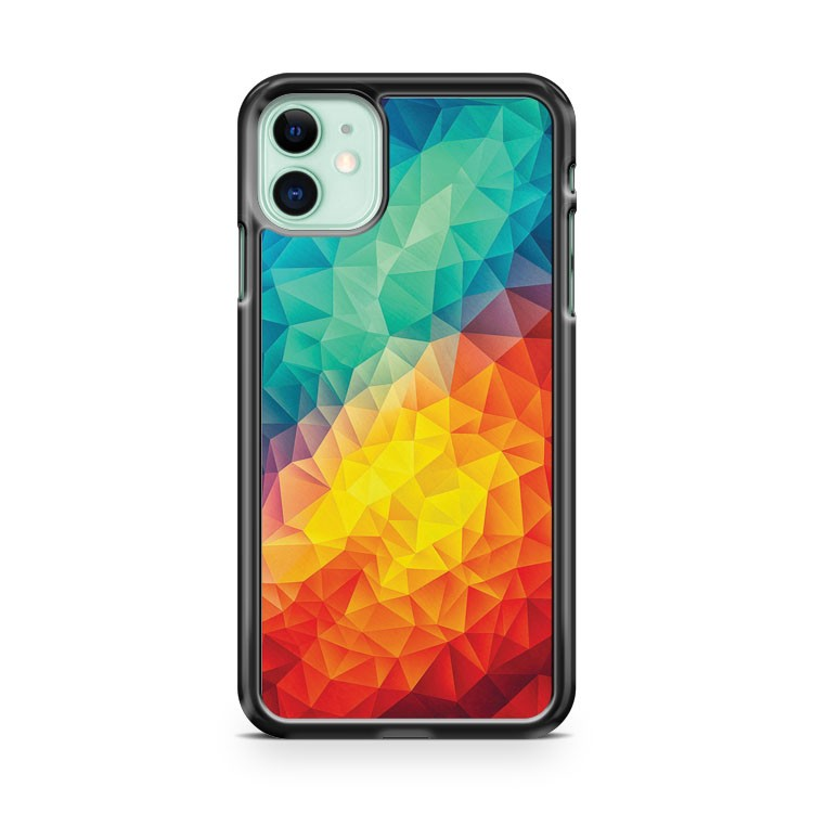 Abstarck Multi Color Cubizm Painting iPhone 11 Case Cover | Overkill Inc.