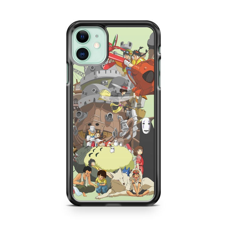 All Characters Spirited Away iPhone 11 Case Cover | Overkill Inc.