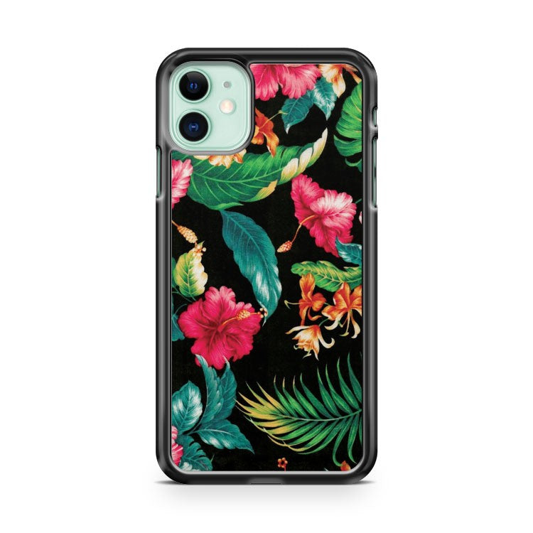 Ankit Tropical Floral iPhone 11 Case Cover | Overkill Inc.