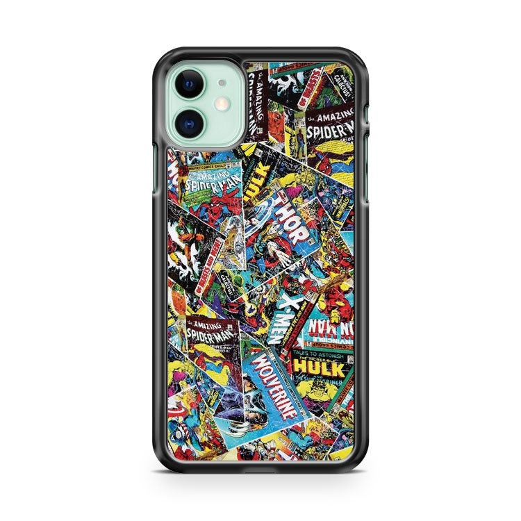 Anymode Marvel Comics Avengers iPhone 11 Case Cover | Overkill Inc.