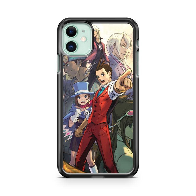 Apollo Justice Poster Ace Attorney iPhone 11 Case Cover | Overkill Inc.