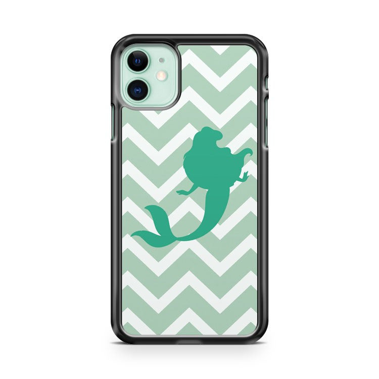 Ariel Chevron Disney Princess iPhone 11 Case Cover | Overkill Inc.