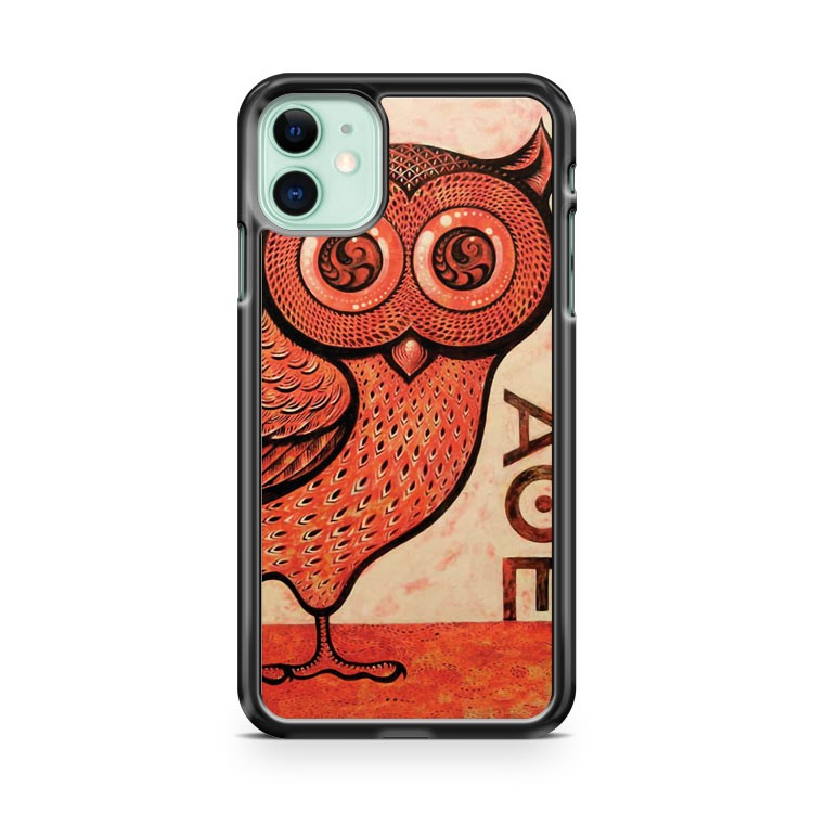 Athena s Owl iPhone 11 Case Cover | Overkill Inc.