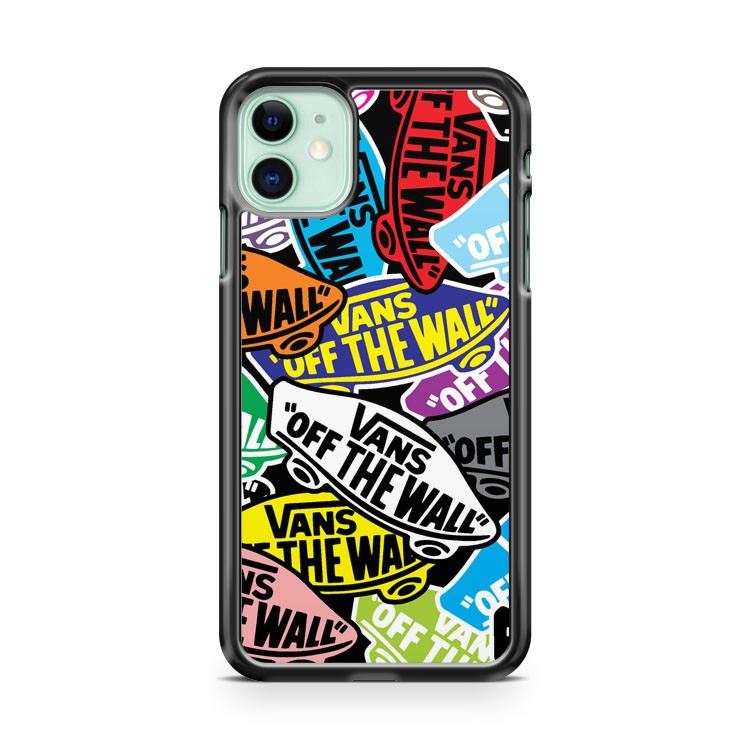 Colorful Vans iPhone 11 Case Cover | Overkill Inc.
