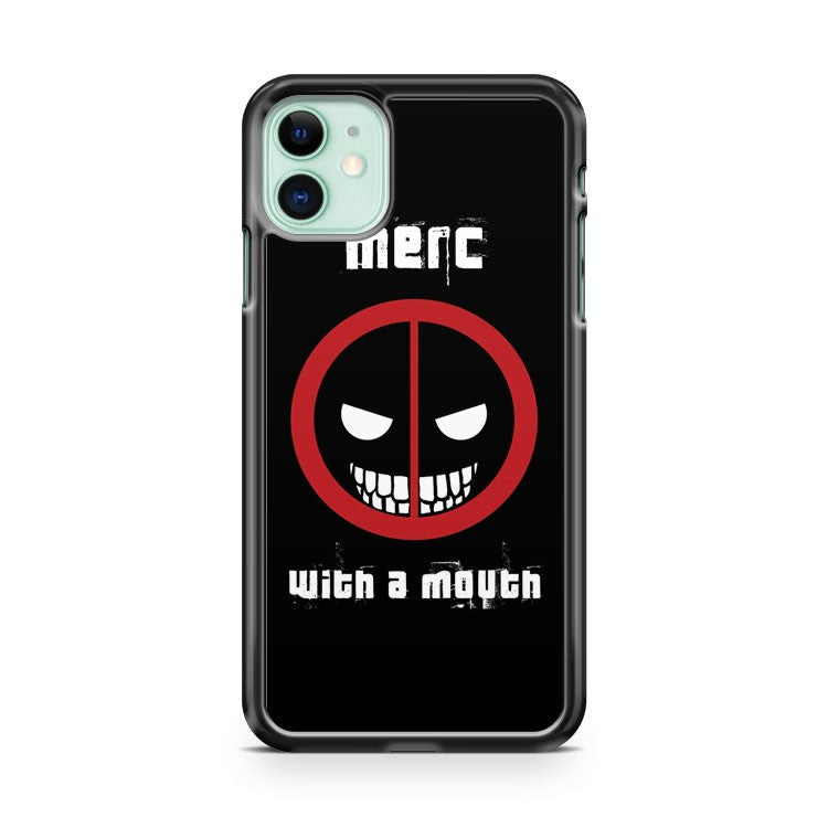 Deadpool Merc With A Mouth iPhone 11 Case Cover | Overkill Inc.