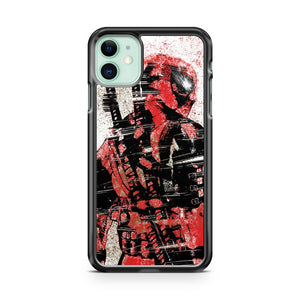 Deadpool Splat Colors iPhone 11 Case Cover | Overkill Inc.