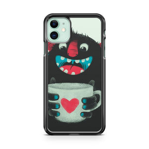 Demon With Cup iPhone 11 Case Cover | Overkill Inc.