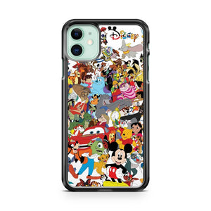 Disney Characters iPhone 11 Case Cover