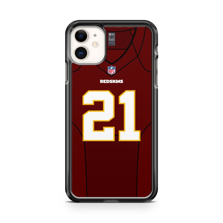 21 Washington Redskins Front Jersey iPhone 11 Case Cover | Overkill Inc.