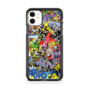 151 Pokemon iPhone 11 Case Cover | Overkill Inc.