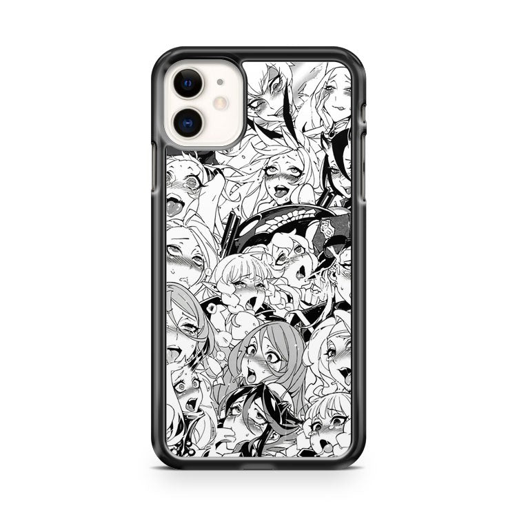 Ahegao Pervert Manga 4 iPhone 11 Case Cover | Overkill Inc.