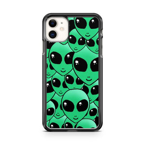 Alien Hipster Collage iPhone 11 Case Cover | Overkill Inc.