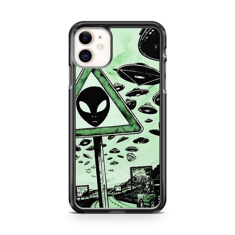 Alien Zone iPhone 11 Case Cover | Overkill Inc.