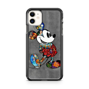 All Characters Disney In Mickey Mouse iPhone 11 Case Cover | Overkill Inc.
