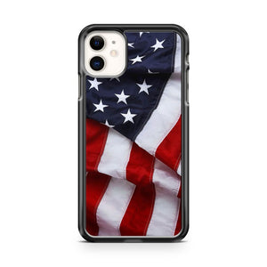 American Flag 3 iPhone 11 Case Cover | Overkill Inc.