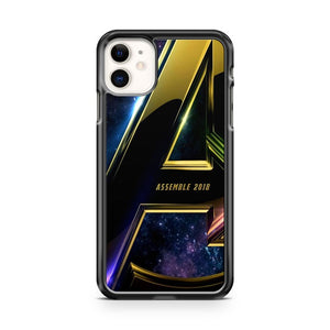 Avengers Infinity War 3 iPhone 11 Case Cover | Overkill Inc.