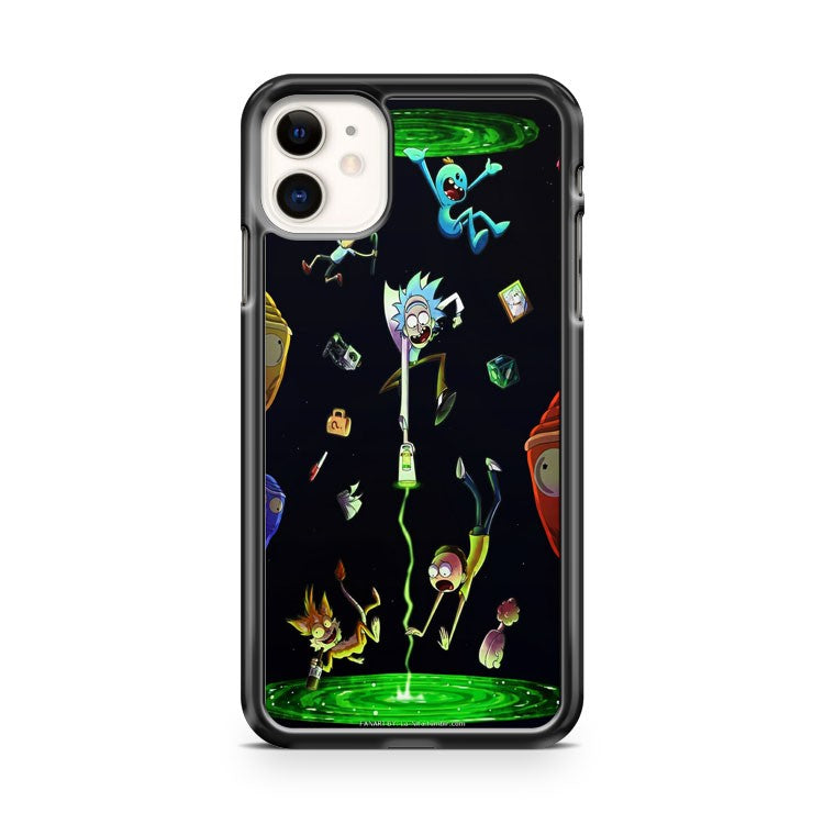 Awesome Rick And Morty Forever iPhone 11 Case Cover | Overkill Inc.