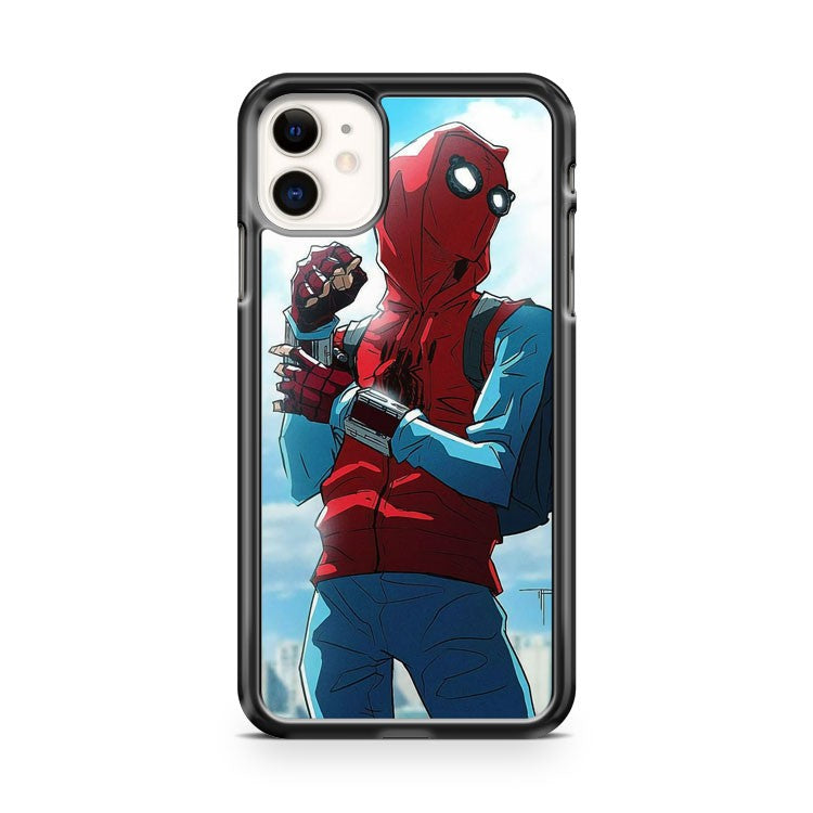 Awesome Spider Man Homecoming Fanart iPhone 11 Case Cover | Overkill Inc.