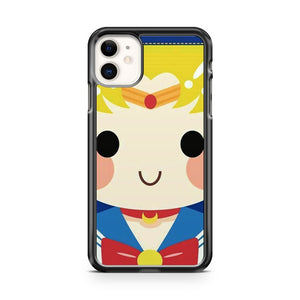 Cute Face Sailor Moon iPhone 11 Case Cover | Overkill Inc.