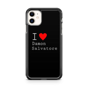 Damon Salvatore The Vampite Diaries iPhone 11 Case Cover | Overkill Inc.