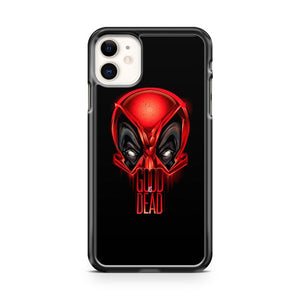 Deadpool Gooddead Vector iPhone 11 Case Cover | Overkill Inc.