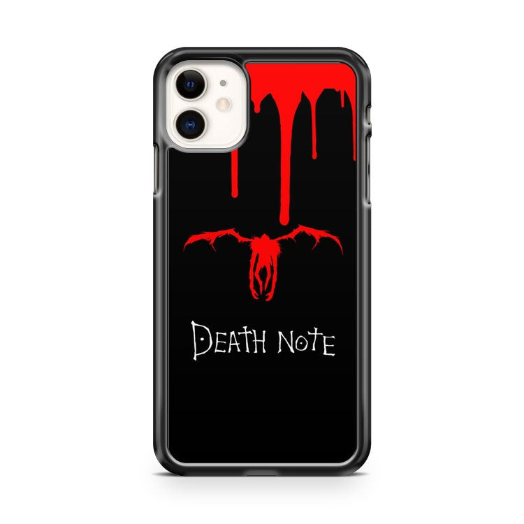 Death Note Japanese Anime iPhone 11 Case Cover | Overkill Inc.
