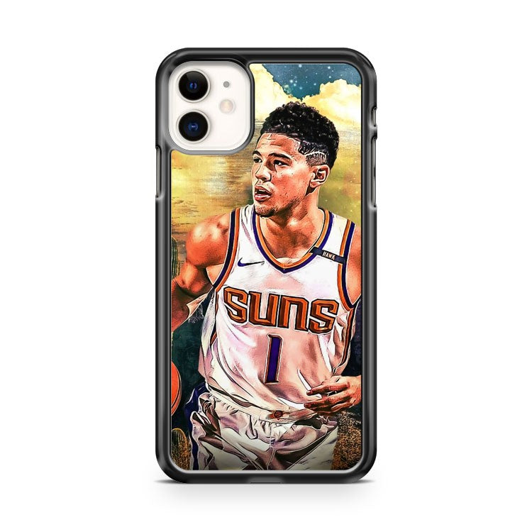 Devin Booker Art Painting iPhone 11 Case Cover