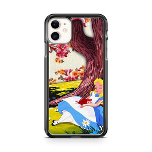Disney Alice In Wonderland Floral iPhone 11 Case Cover