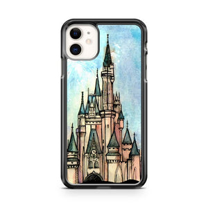 Disney Castle Art iPhone 11 Case Cover