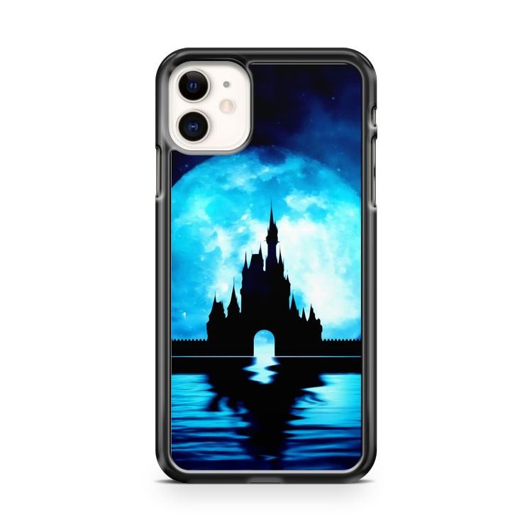 Disney Castle Silhouette iPhone 11 Case Cover